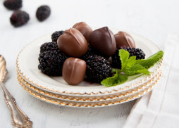 Chocolate Covered Black Berries